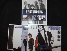 COFFRET 5 CD PRETENDERS / ORIGINAL ALBUM SERIES /