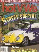 DUNE BUGGIES & HOT VW'S 1997 MAY - IRS AXLE BEARING R&R, SUNROOF COVER REPAIR