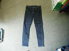 "Moto Skinny Jeans Waist 28"" Leg 30"" Faded Dark Blue Ladies Jeans"