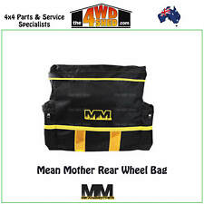 REAR WHEEL BAG STORAGE 4WD 4X4 RECOVERY RUBBISH BAG MEAN MOTHER