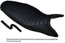 Diseño 3 R Azul Stitch personalizado se adapta a Triumph Street Triple 675 07-12 cubierta de asiento