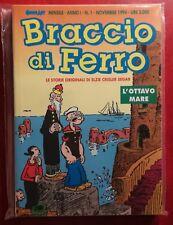 LOTTO 3 COLLEZIONE COMPLETA BRACCIO DI FERRO POPEYE 1-10 COMIC ART 1994 EDICOLA