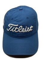 Titleist Blue Golf Adjustable Baseball Cap Hat Strap-back Bic Graphic New Era