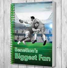 BENETTON Rugby Ventola Notebook-Natale/Regalo Di Compleanno/Stocking Filler