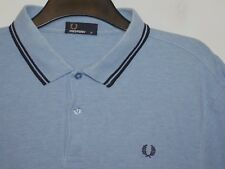 Fred Perry twin tipped regular fit polo shirt t-shirt M1200 extra large XL