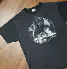 Vintage Single Stitch Cindy Farmer Rough Collie Dog Xl T-Shirt