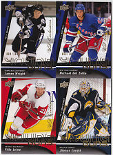 09-10 Upper Deck James Wright /100 UD Exclusives Young Guns Rookie 2009