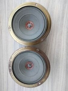 2 vintage Philips field coil speakers 13,5 cm 5,3 inches