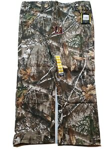 """RealTree Hunting Camo Men's XXL Camouflage Flat Front Pants 44/46 2XL Inseam 31"""""""
