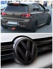 GRILLE & HATCH VW Replacement Badge for VOLKSWAGEN GOLF 6 or R MK6 GTI MATTE BK