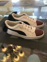Puma Basket Bow Red White Blue Women Shoes Sneakers SIZE 6 US (367319-01) New !