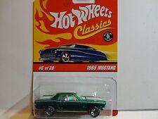 Hot Wheels Classic Series 2  #6 Green 1965 Mustang