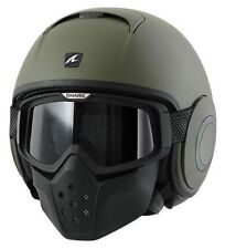 CASCO SHARK RAW VERDE MATE   +++TALLA L+++