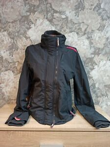 Superdry  Women's double professional   jacket size L   gray color