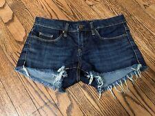 BLANKNYC Little Queenie Cutoff Shorts Dark Blue Size 25