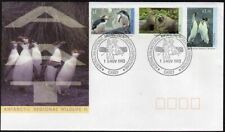 Australian AT L86A-L89 FDC. Regional wildlife,1992:Penguins,Fur seals