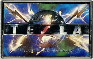 TESLA Mechanical Resonance - Cassette Tape (1986 Geffen Records) TESTED OOP