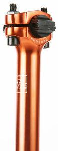 "New DK Goal Post Seat Post Anodized ORANGE GOLD BMX 25.4 Cruiser Dirt Street 1"""
