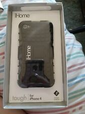 ihome Tough case for iphone 4s - Black - New