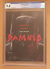 Batman Damned 1 A CGC 9.8 DC Black Label uncensored 1st printing + non graded