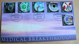 MEDICAL BREAKTHROUGHS 2010  BUCKINGHAM FDC LONDON SW7 H/S