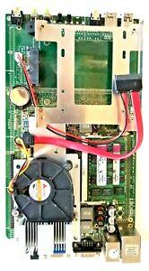 SOLTEK LI25V25 IND SBC + 2.2GHz INTEL CORE 2 DUO SLA95 CPU + 4GB RAM + H/S & FAN