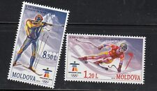 Moldova 2010 Mi.#689-90 Vancouver Olympic Games set 2 stamps MNH Cat.Euro 6.00