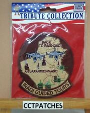 IRAQI GUIDED TOURS BACK TO BAGHDAD PATCH