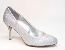 Women's Fashion Round Toe Stiletto High Heel Platform Pump Shoes Size 5.5 - 10