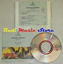 CD SVIATOSLAV RICHTER Pianoforte WEBER BRAHMS PROKOF'EV italy ERMITAGE lp mc dvd