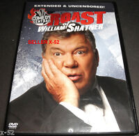 SHATNER ROAST dvd Sulu Takei JIMMY KIMMEL star trek kirk Andy Dick BETTY WHITE