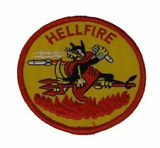 HELLFIRE MISSILE AGM-114 PATCH AIR TO SURFACE DRONE UAV HELICOPTER TANK BUSTER
