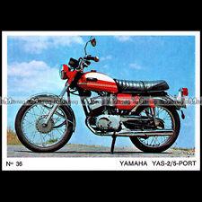 #amp72.036 ★ YAMAHA 125 YAS-2 ★ Motociclo Americana Moto Parade 72