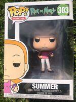 Summer (Rick and Morty) - Funko Pop Vinyl Figure #303