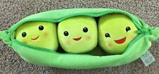 """Nwt Disney Toy Story Three Peas In A Pod 19"""" Inch Plush"""