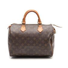 LOUIS VUITTON Speedy 30 monogram handbag PVC leather brown