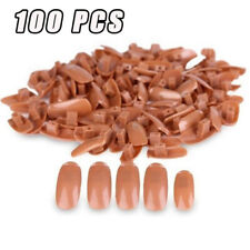 100PC s Nail Training Hand Replacement Tips Displays Practice Trainer Care UK