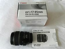 Canon EF-S 17-85mm f/4-5.6 IS USM Lens (Excellent Condition!)