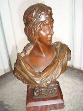E.Villanis Original Bronze Sold through & signed Tiffany & Co. Foundry mark MINT