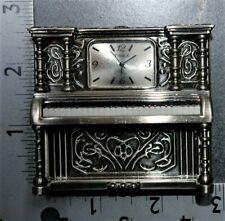 New ListingMiniature Timex Collectible Silver Piano Quartz Clock. Used