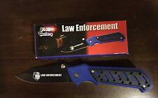 Frost Cutlery Law Enforcement Folding Pocket Knife Belt Clip