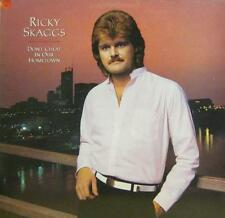 Ricky Skaggs(Vinyl LP)Don't Cheat In Our Hometown-Epic-EPC 25654-UK-VG+/Ex
