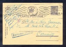 8491 Romania,1943,Postcard Nr:108 from Tecuci with machine cancel and with censo