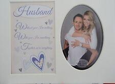 """marido"" Keepsake Foto montaje para adaptarse a 8 ""x 10"" Dormitorio Living Sala de pasillo."