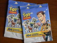 DISNEY Pixar Toy Story 2 pkgs 104 each Mini Stickers Autocollants 8 sheets New