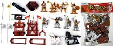 Playsets - Russian Knights Plastic Soldiers 54mm 1/32 Horses Catapults