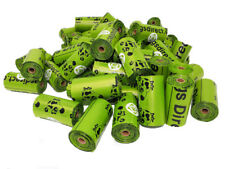 El aclaramiento 720 Biodegardable Perro Poo bolsos/bolsas de residuos 48 Rollos poobagsdirect perro