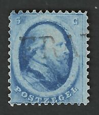 Nederland 1864 NVPH 4A met stempel FRANCO (groot) zonder kastje