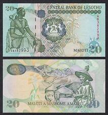 Lesoto - Lesotho  20 Maloti  2001  Pick 16f  SC = UNC