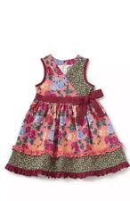 Matilda Jane Choose your own path Fall Bouquet Dress size 8 NWT New Girls